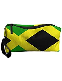 Jamaica USA Flag Heart Unisex Cross Body Bags Personalized Travel Bag