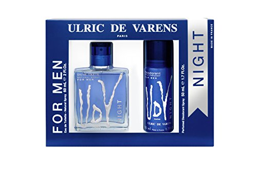 Geschenkset UDV Night Eau de Toilette 60 ml + Deo Vapo 50 ml