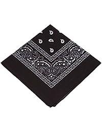 Bandana de cachemira, pañuelo estilo Rockabilly, para pelo y cuello, estilo retro años 50