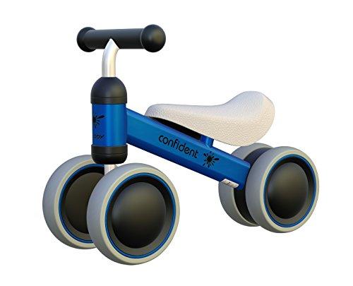 Bicicleta Bebé 1-2 años Carrier Educativo Niños Motocicleta Chidlren Walker 10-24 meses Vehículo sin Pedal Infantil Cuatro Ruedas Premier Bike para Niños Niñas Unisex Exterior / Interior Azul / Amarillo / Naranja / Blanco / Rosa Opcional YGJT