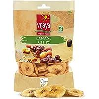 Chips de Plátano Bio de Filipinas, plátanos secos orgánicos | 125g | Vijaya