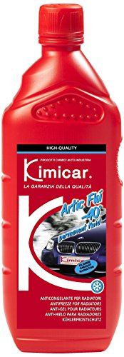 Kimicar 0041000 Artic FLU Liquido Anticongelante per Radiatori, -40°C, Blu