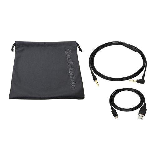 Audio-Technica ATH-SR5BTBK Kabelloser, Ohraufliegender High-Resolution Kopfhörer schwarz - 4