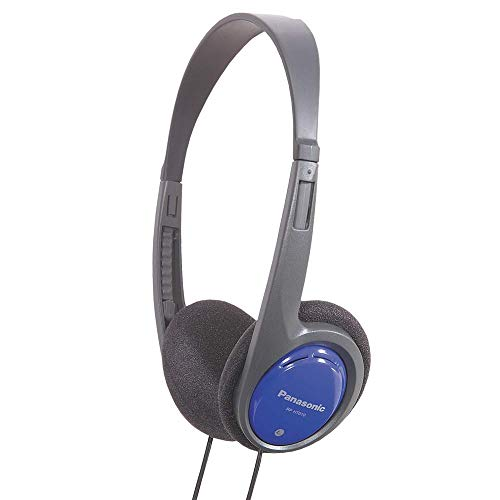 Panasonic RP-HT010E-A Kopfhörer blau (besonders leicht und angenehm zu tragen) thumbnail