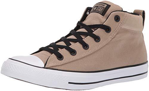 Converse Unisex-Erwachsene Chuck Taylor All Star Hohe Sneaker Beige (Khaki/Black/White 000) 41 EU