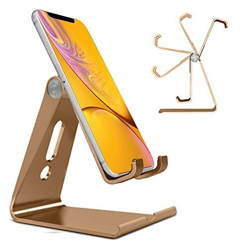 N4U Online® Verstellbare, Faltbare Metallhalterung für Oppo N1 Mini