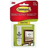 Command Picture Hanging Strips Value Pack, Medium MCK9S, White, 48-Pairs (17204-12ES)