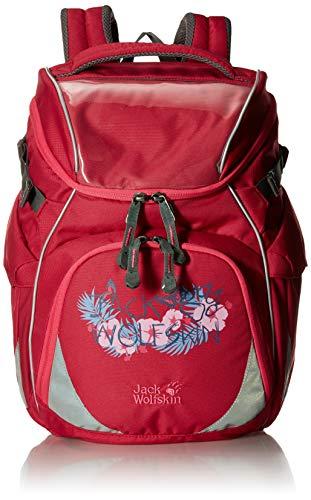 Jack Wolfskin Unisex-Kinder Classmate Sac a dos Rucksack, Rot (azalea red), One Size