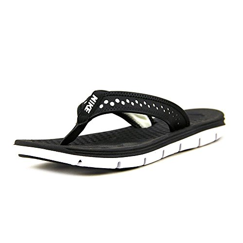 Nike Flex Movimento perizoma nero / bianco Sandalo 5 B - Media Black/White