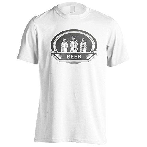 La migliore birra birra arte d'epoca divertente Uomo T-shirt d686m White