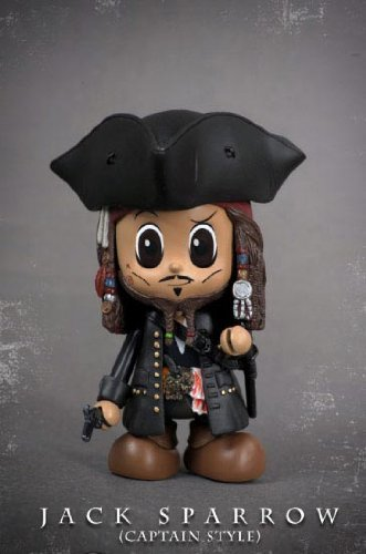 Pirates o.t.CaribbeanIV Jack Sparrow/Captain Style [Import allemand]