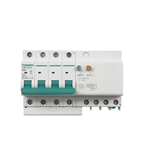 OIASD Interruptor de Aire Interruptor de protección contra Fugas 4P C32A 30mA...