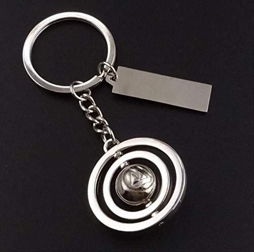 DdA8yonH Schlüsselbund Schlüsselbunde 3 D360 Rotierende Fußball Tennis Basketball Schlüsselanhänger Auto Schlüsselanhänger Schlüsselanhänger anlage Schlüsselbund für al