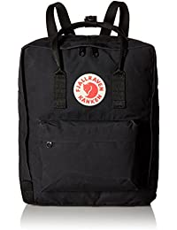 Fjällräven Kånken Vinylon Black backpack - backpacks (Vinylon, Black, Front pocket, Zipper, 270 mm, 130 mm)