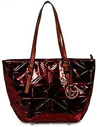 Petit sac cabas THIERRY MUGLER Caprice rouge