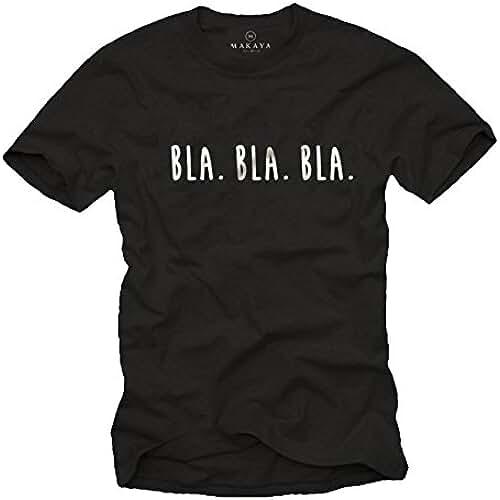 dia del orgullo friki Camisetas divertidas con frases para hombres - BLA BLA BLA