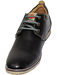 Foot Planet Made By T.P.R. Shol Leather Multicolor Stylish Men's Shoe