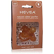 Hevea Crown Round Pacifier for 0-3 Months
