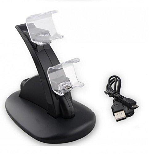 Preisvergleich Produktbild Human PS4 Griffladegerät PS4 Blu-Ray-Ladegerät Mit USB