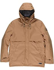 Element Herren Jacke Freeman, hochwertige gewachste Winterjacke, Funktionsjacke für Herbst und Winter, wasserabweisend und atmungsaktiv