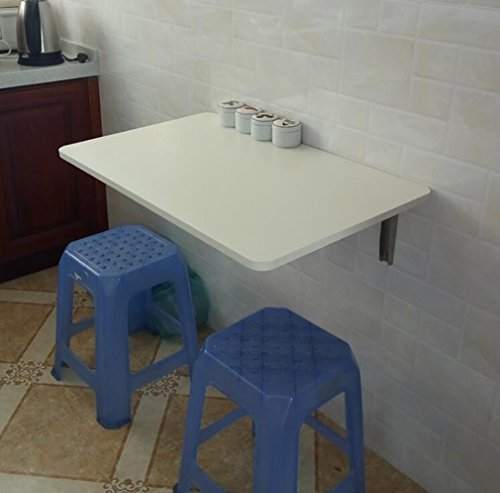 Table pliante murale Table d'appoint murale Table d'appoint de cuisine Table d'ordinateur blanc ( taille : 120*40cm )