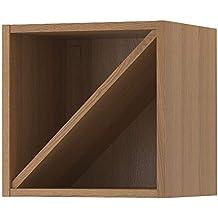 IKEA ASIA VADHOLMA - Estante para Vino, Color marrón