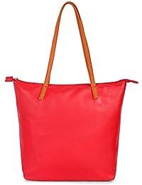 Ladies Designer Red Shoulder Bag Handbag For Women Girls Ladies Sling Shoulder Stilvoll Tote Trendy Bag Purse...