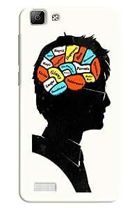 Omnam Braing Running Activities Printed Designer Back Cover Case For Oppo F1 Plus