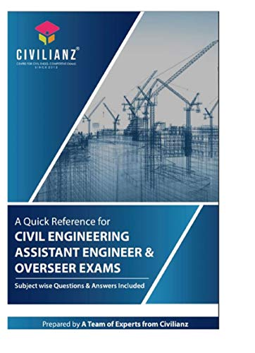 A quick reference for Civil Engineering Assistant Engineer & Overseer exams