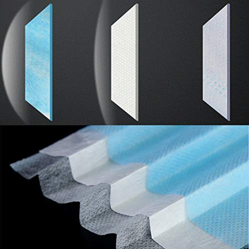 demi masque visage virus