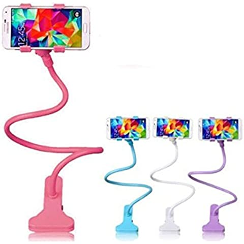 Creative PANNIUZHE Supporto universale con braccio lungo e flessibile, con supporto Mobile Phone-Supporto per iPhone, (Arms Girevole Sedia)