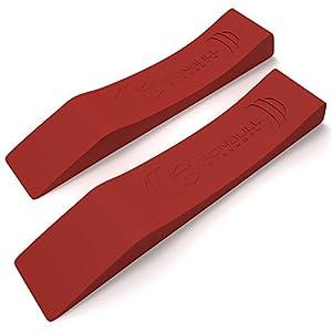 Iron Wedge (1 Paar) – Deadlift Stange Jack Alternative Für Das Effiziente Laden und Entladen von Hantelscheiben – Ideal für Stärke & Fitness Athleten, Crossfit, Powerlifting, Strongman, Bodybuilder