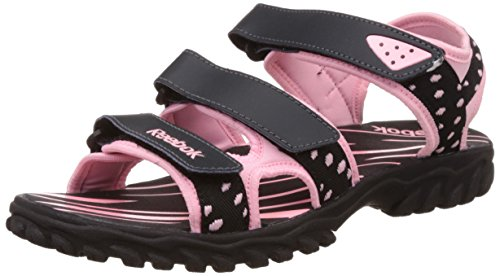 Reebok Women's Supreme Connect Gravel, Pink and Black Leather Flip-Flops and House Slippers – 5 UK/India (38 EU)(7.5 US) 41i5fjGynvL