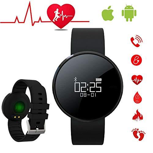 Smartwatch für Herren, intelligentes Armband, für Damen, Aktivität, Sportuhr mit Pulsmesser, Smartwatch für Herren