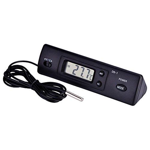 Digital Temperatur Messgerät Elektronische LCD Thermometer Sonde Sensor Draht Temperatur Controller -