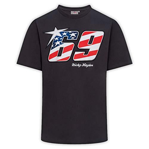 GP-Racing 69 American Flag T-Shirt L