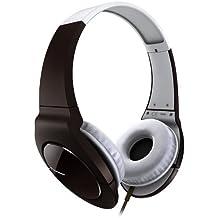 """Pioneer SE-MJ721 - Auriculares (Circumaural, Diadema, 1000 mW, Alámbrico, 3.5 mm (1/8""""), 1,2m) Marrón, Color blanco"""