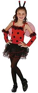 Reír Y Confeti - Ficani023 - Disfraces Para Niños - Little Ladybug Costume - Chica - Talla L