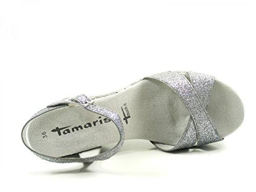 Tamaris Tamaris Sandaletten 1-1-28309-28/551 Silber