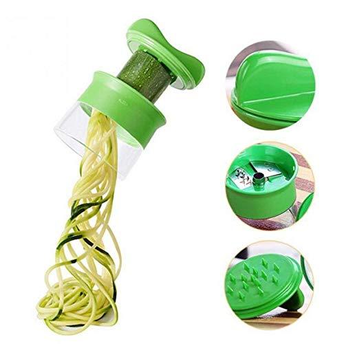 Byfri ABS Zanahoria Pepino rallador de Espiral Cortador de Verduras Frutas Espiral máquina de Cortar...