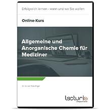 Online-Videokurs Allgemeine und Anorganische Chemie für Mediziner von Peter Engel