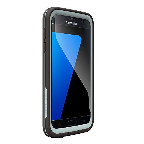 LifeProof FRE SERIES Waterproof Case for Samsung Galaxy S7 – Retail Packaging – GRIND (DARK GREY/SLATE GREY/SKY FLY BLUE)