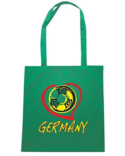 T-Shirtshock - Borsa Shopping BEER0068 germany white tshirt Verde