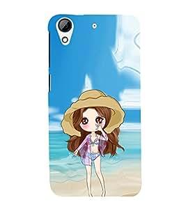 EPICCASE sexy doll Mobile Back Case Cover For HTC Desire 728 (Designer Case)