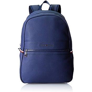 809d072f3c Tommy Hilfiger Essential Backpack Ii, Sacs à dos homme, Bleu (Tommy  Navy/Core Stp), 15x42x30 cm (B x H T)