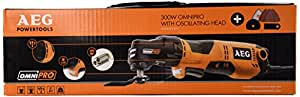 AEG 4935431790 Omni 300 Kit 1 Machine à tête interchangeable 300 W