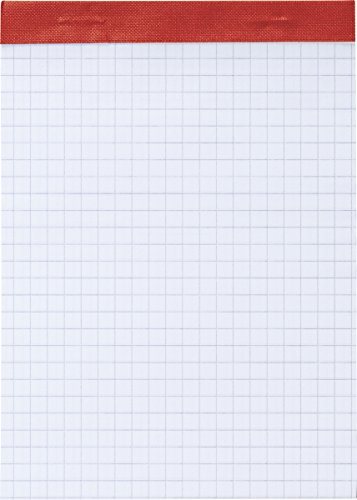 Brunnen 1055332 Notizblock (A6, liniert, 50 Blatt, geheftet und perforiert, 60g/m²)