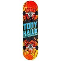 Tony Hawk Shatter Logo Longboard, Adultos Unisex, Multi (Multicolor), 7.75 in