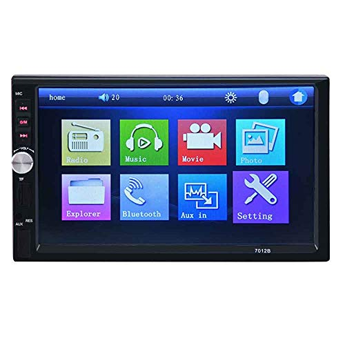 Haiyemao Multimedia-Anzeige 7012B 7 Zoll Bluetooth V2.0 12V Autoradio Stereo MP5 Player Auto Video mit Rückfahrkamera Heimausrüstung anzeigen -