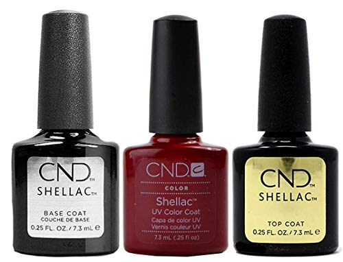 CND Original CND Shellac Decadence plus Base Coat plus Top Coat 7.3 ml, 1er Pack (1 x 22 ml)